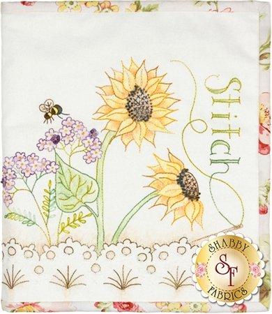 Sunflower Stitchery Folder Crabapple Hill