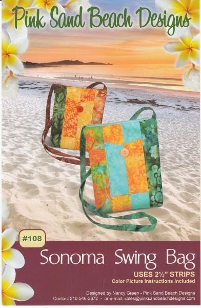 Sonoma Swing Bag Pink Sand Beach