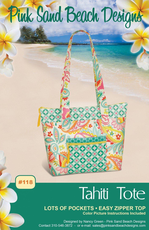 Tahiti Tote Pink Sand Beach