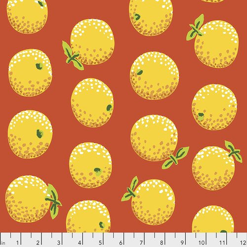 Kaffe Fasset Oranges Yellow