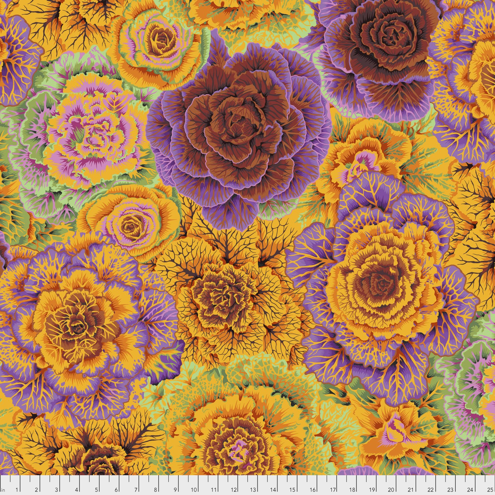 Kaffe Fassett SC94 Shot Cotton Sprout Fabric By Yd