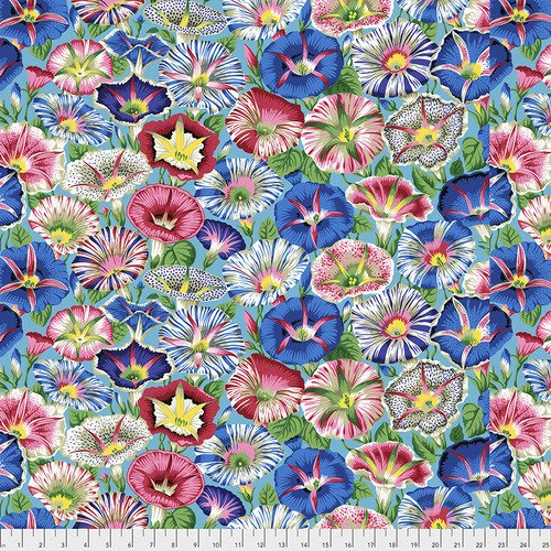 Kaffe Fassett Variegated Morning Glory Aqua
