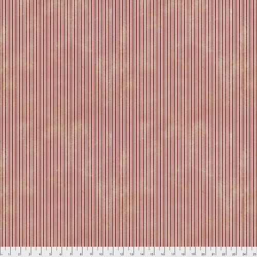 Merriment Pinstripe Red