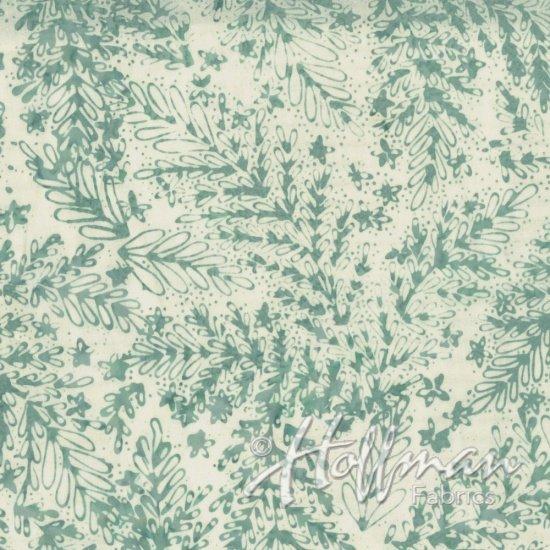 Bali Batiks Leaves Aquarius Q2147-536