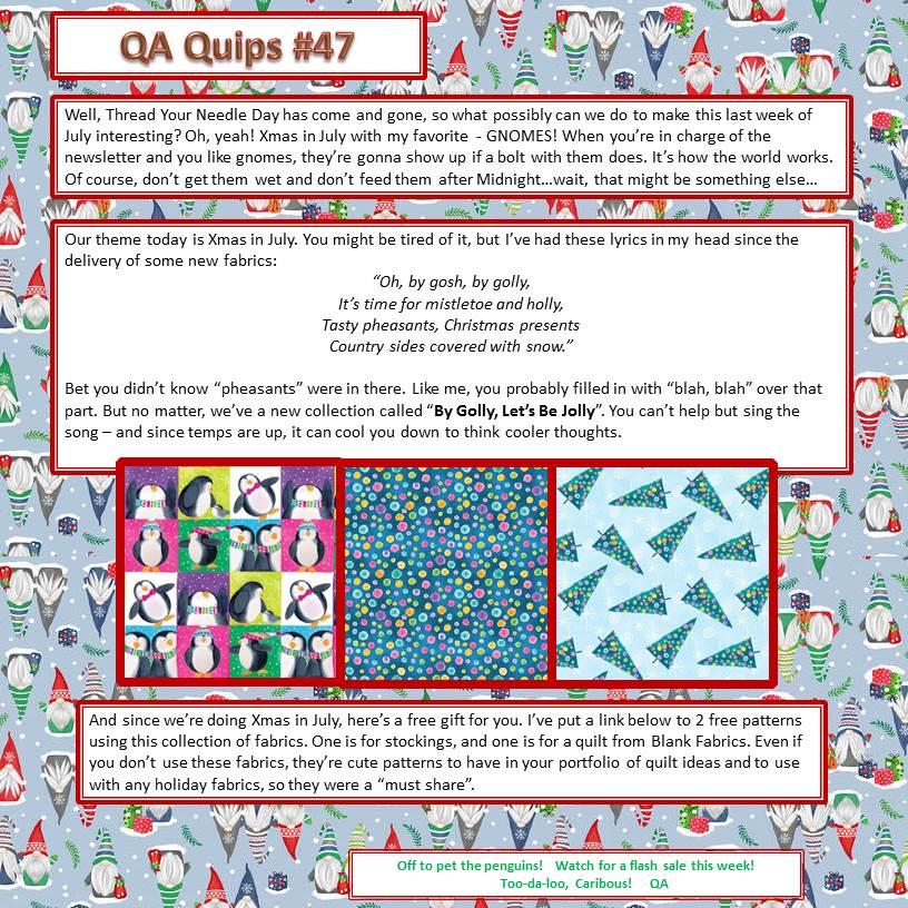 QA Quips 47