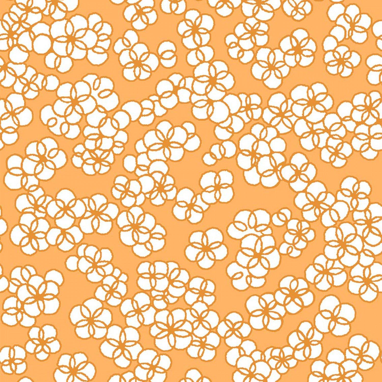 30s Orange Dots