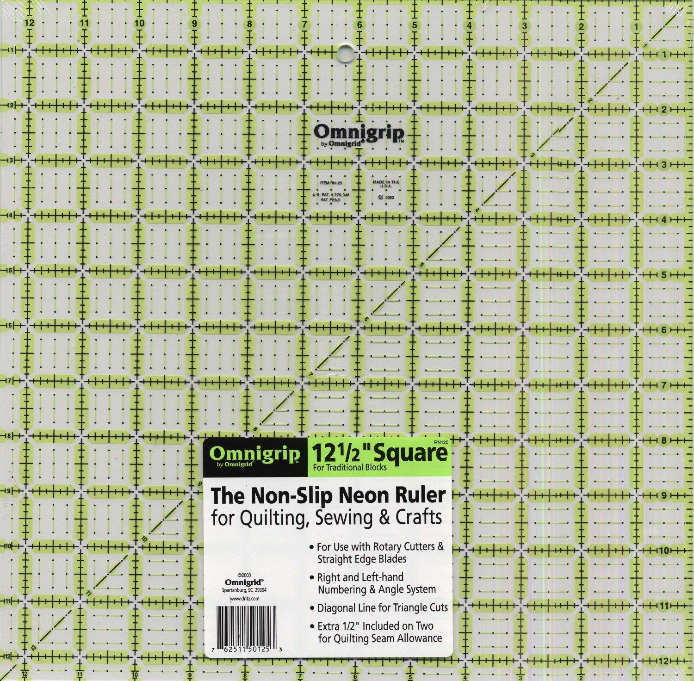 Omnigrid 12.5 square ruler