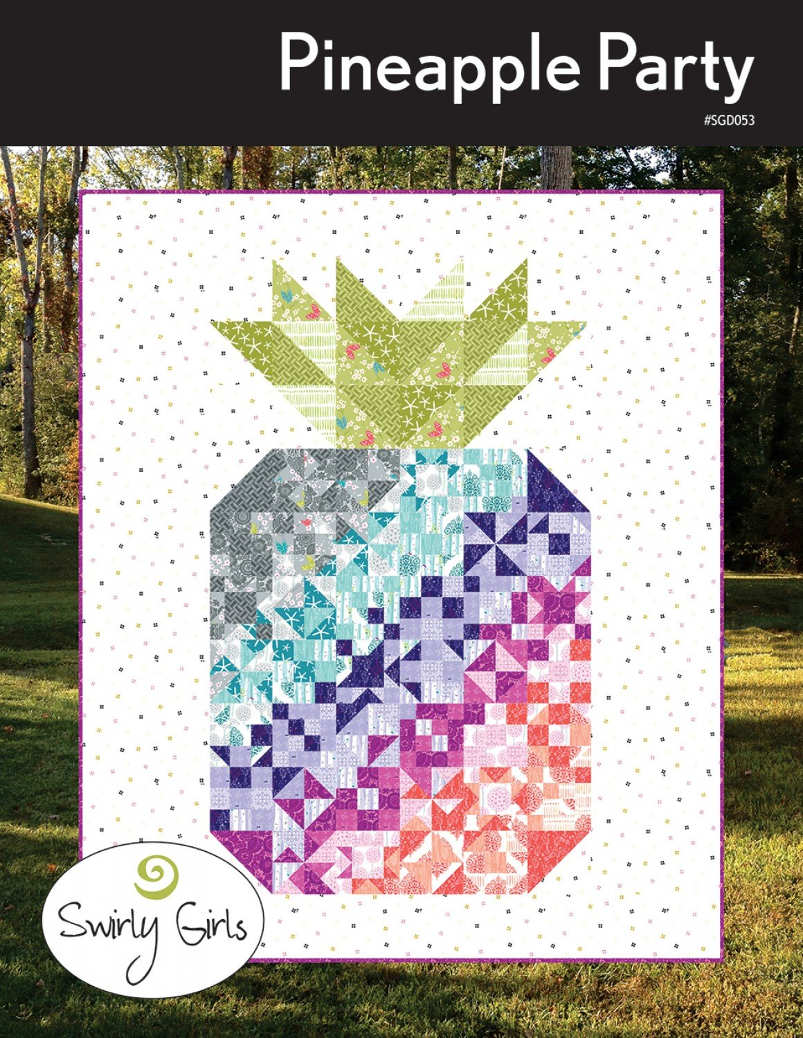 2019 Block of the Month - Pineapple Party Monthly sign up-fee