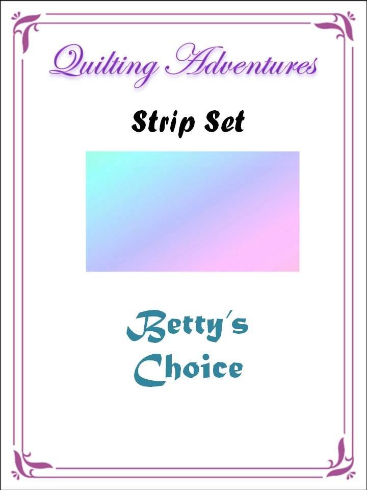 Betty's Batik Choice Strips (40)