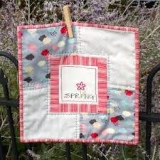 Libby's Spring Mini Quilt - Olive Grace Studios
