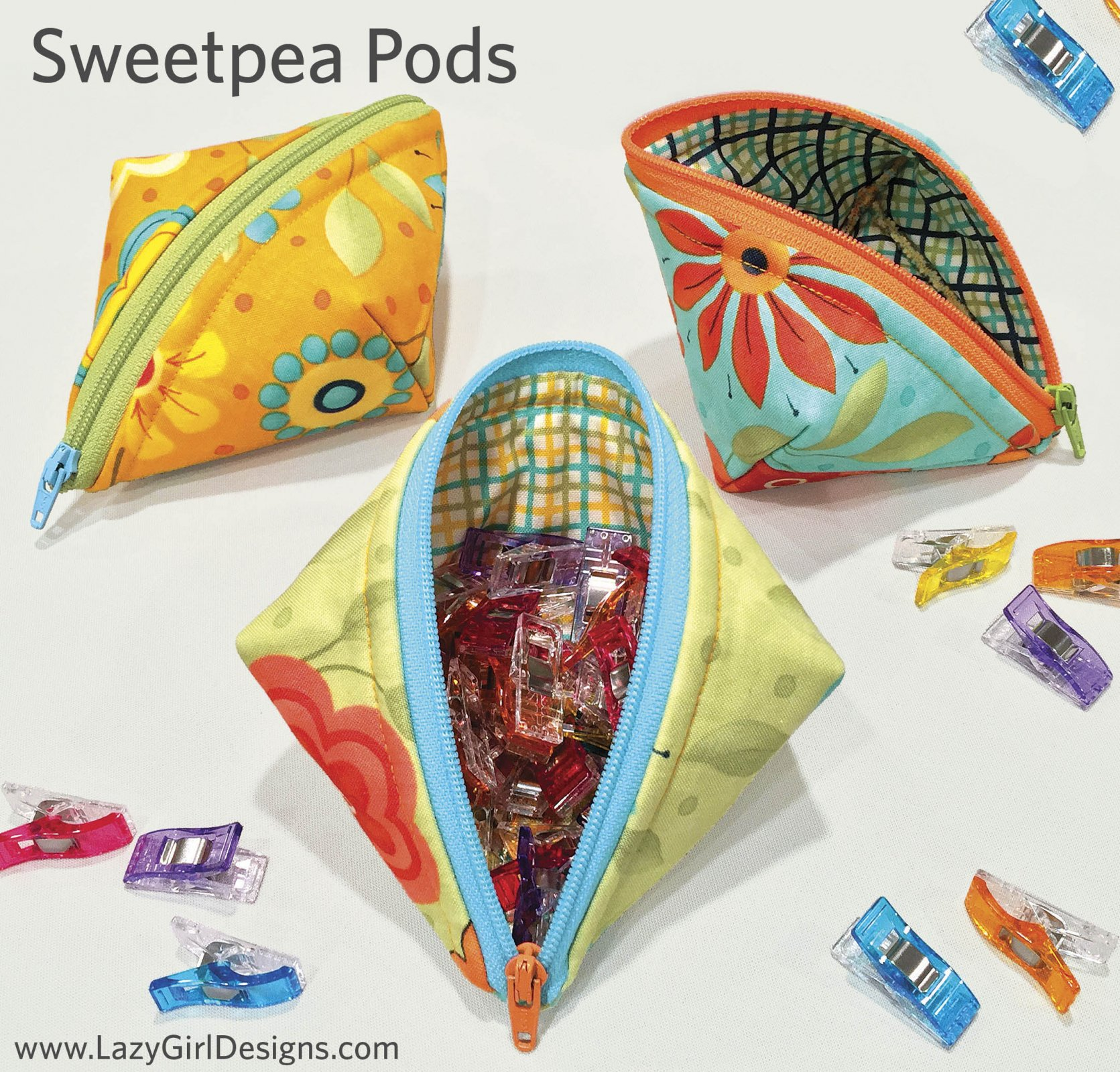Sweetpea Pods Lazy Girl Design