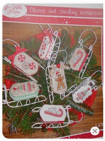 Christmas Sweets Sue Hillis Designs