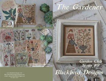 Garden Club 9  The Gardner  Blackbird Designs 16-1143