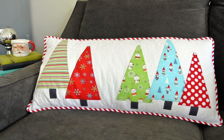 Tree Hugger Pillow Cut Loose Press / Swirly Girls