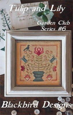 Garden Club 6  Tulip & Lily Blackbird Designs 16-1143
