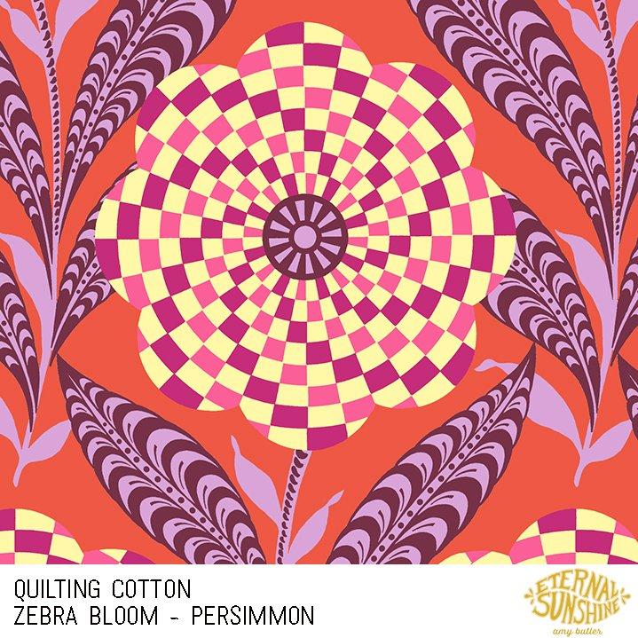 Eternal Sunshine Zebra BLM Persimmon