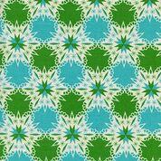 Noel By Cotton + Steel Aqua/Green