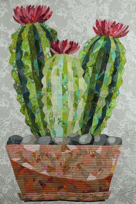 *Cactus Collage Pattern