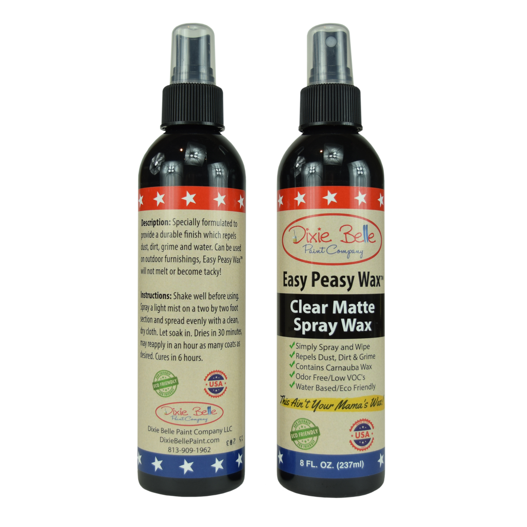 DBP Easy Peasy Wax Clear Matte 8 oz.