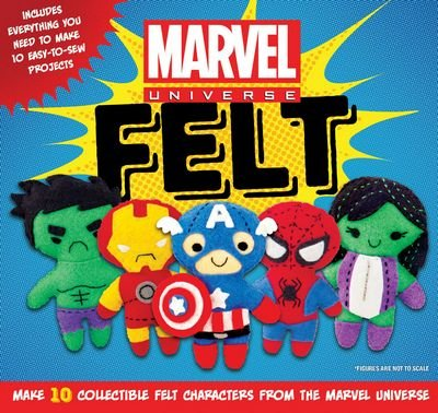 Marvel Felt Characters
