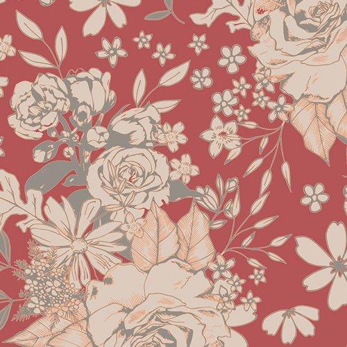 Floral Universe Auburn K-3632 Knit