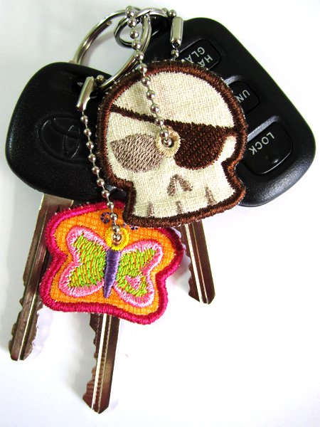 Sue O'Very Designs - Key Covers ITH