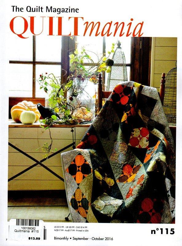 The Quilt Magazine Quilt Mania 115