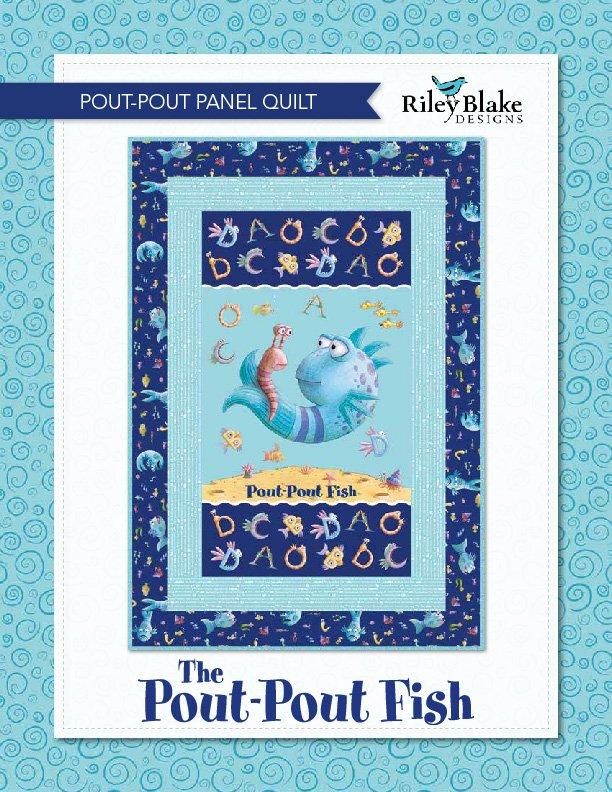 Pout Pout Fish Panel Quilt