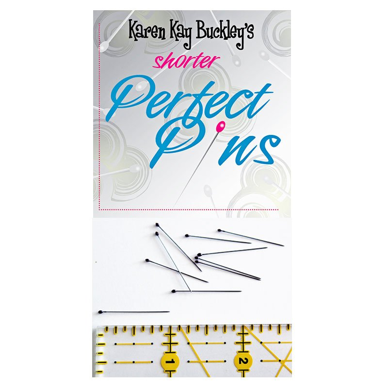 Karen Kay Buckley Shorter Perfect Pins 50ct KKB016