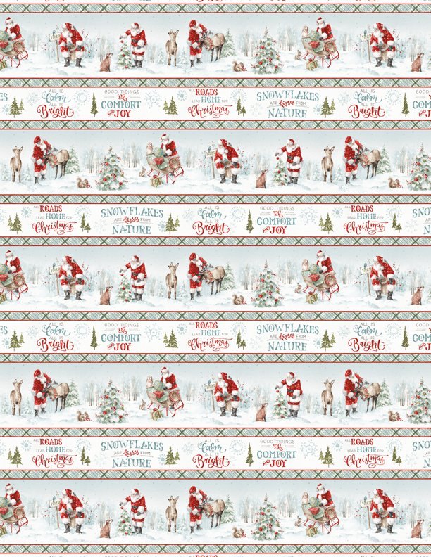 A Magical Christmas Repeating Stripe 86460-417