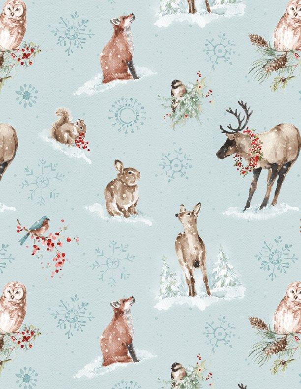 A Magical Christmas All Over Blue 86462 423