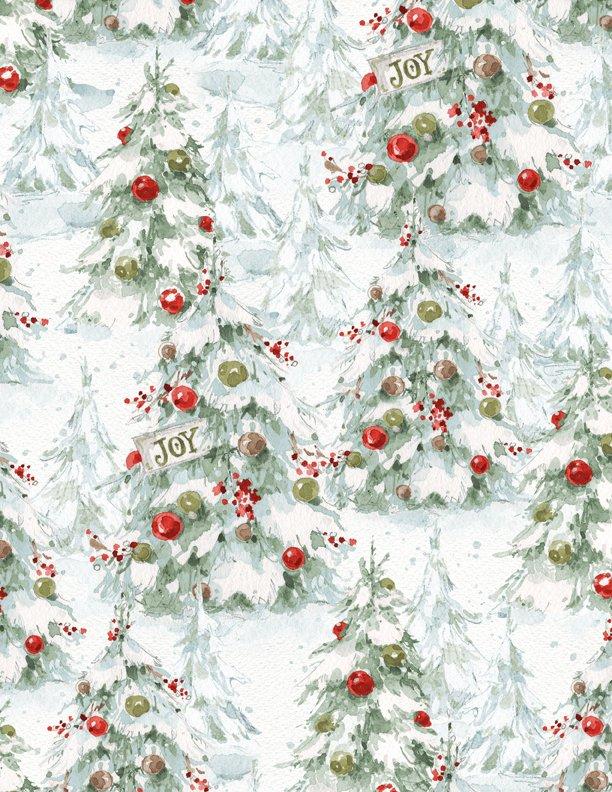 A Magical Christmas Trees White 86463 173