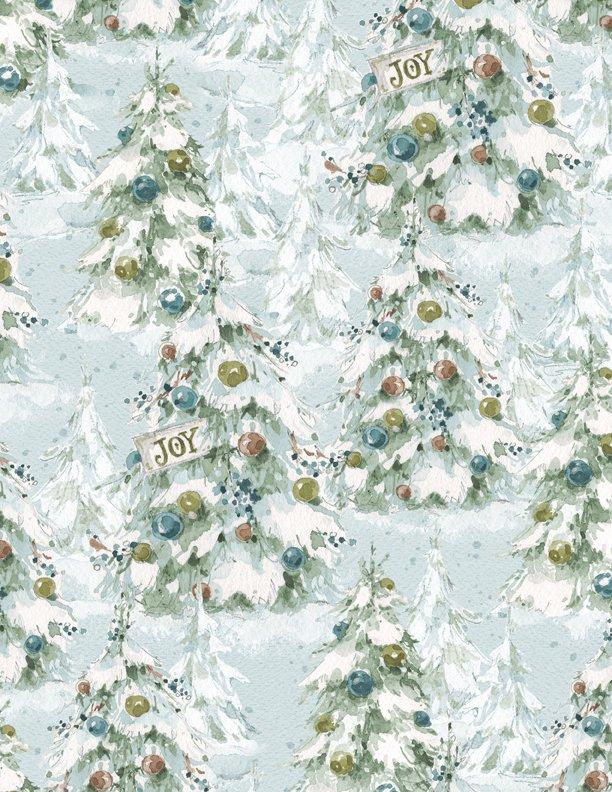 A Magical Christmas Trees Blue 86463 474