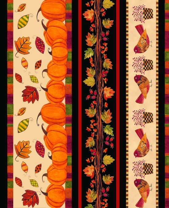 Give Thanks Stripe Ivory B-8564-41