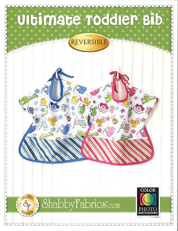 Ultimate Toddler Bib  Shabby Fabrics SF 49875