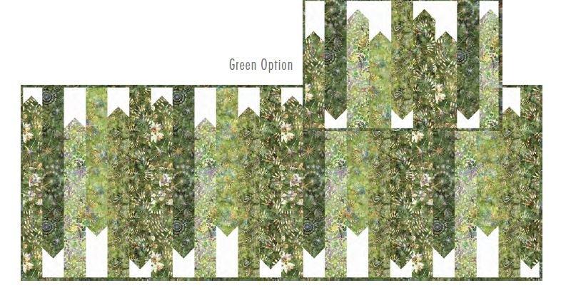 Feel the Beat Green Table Runner Kit