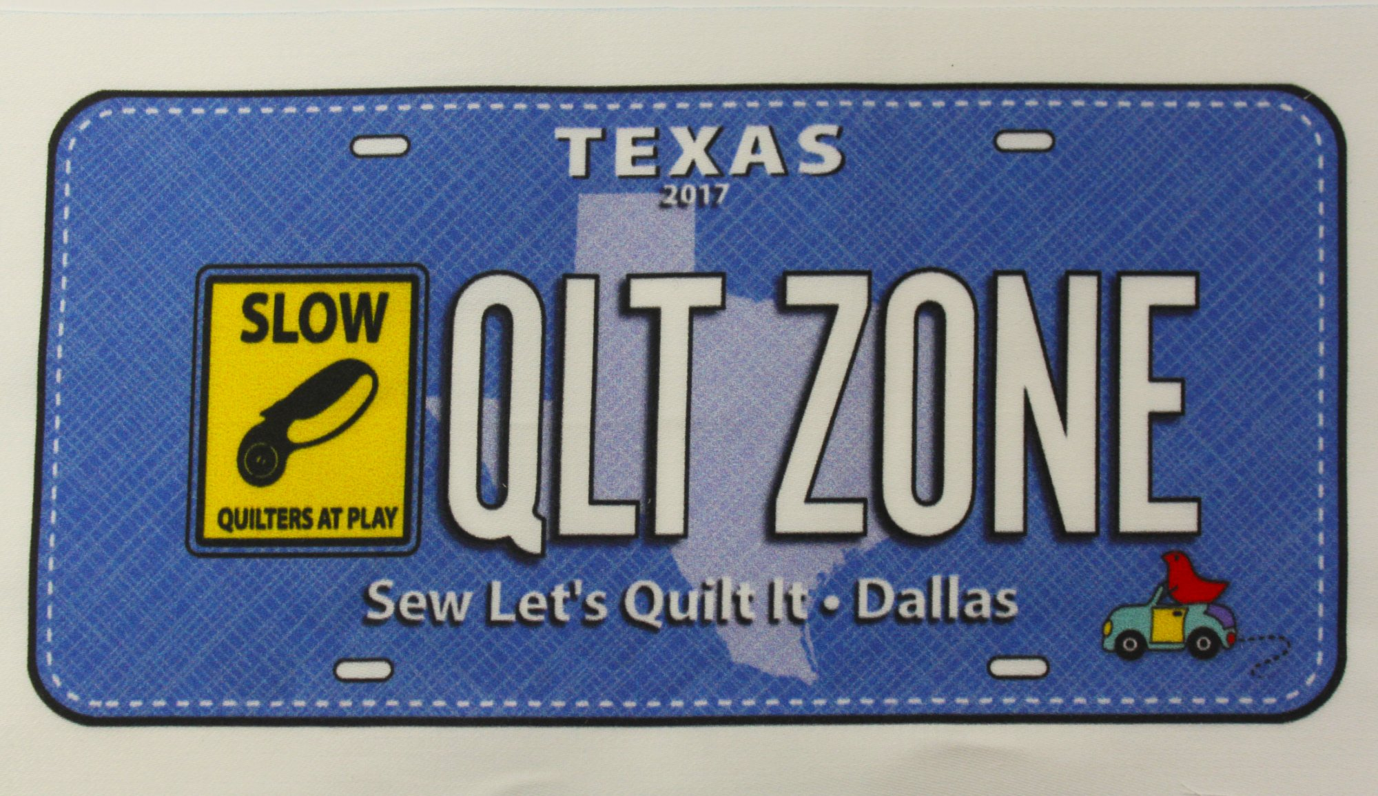 QLT Zone License Plate 2017
