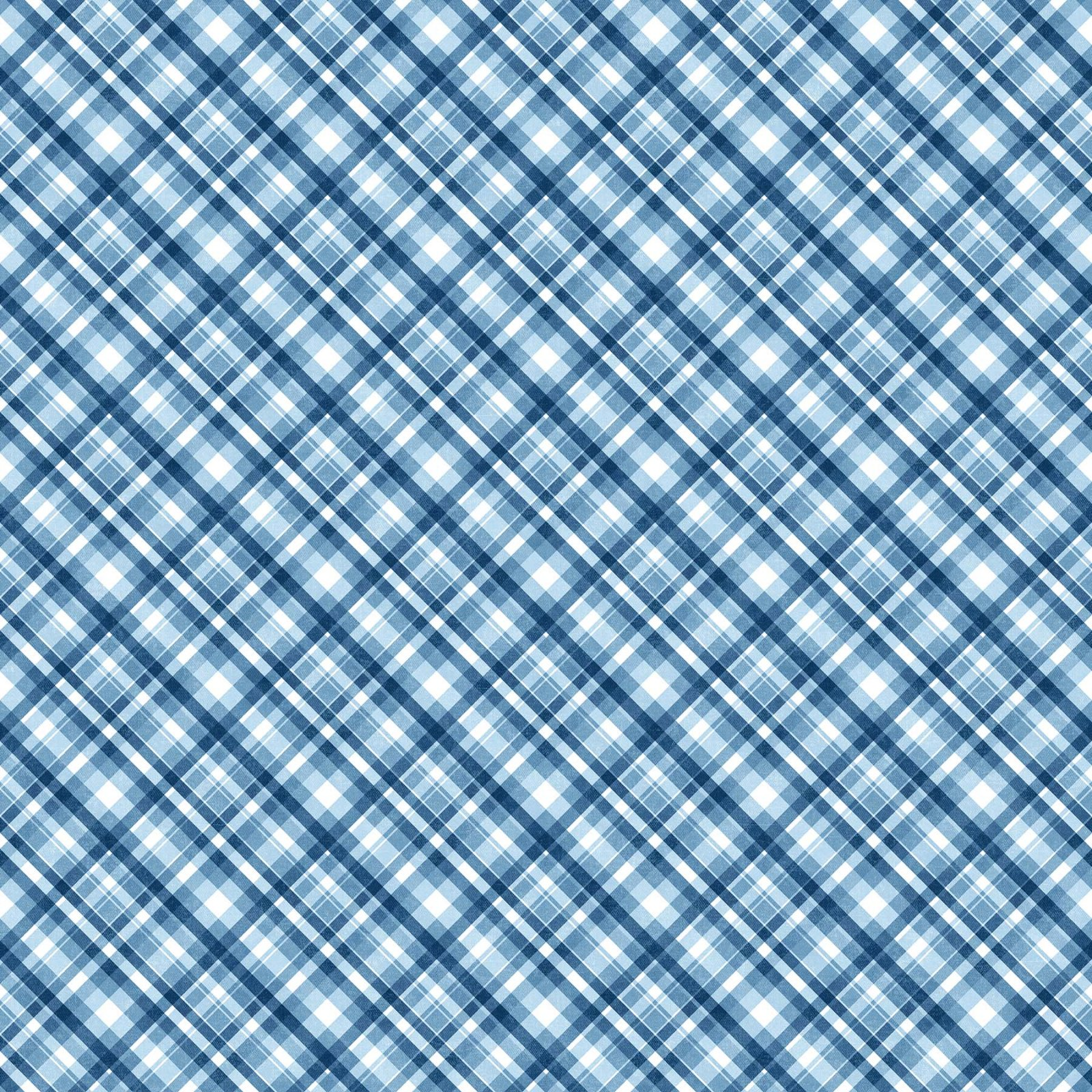 GOT THE BLUES DIAGONAL CHECK MID BLUE 23380-44
