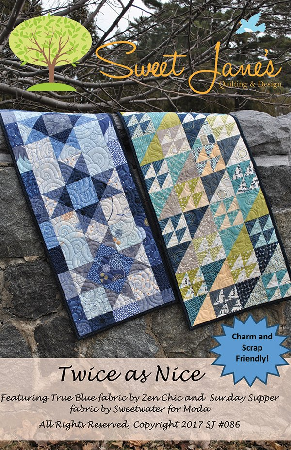 Twice As Nice Sweet Jane Quilting SJ 086