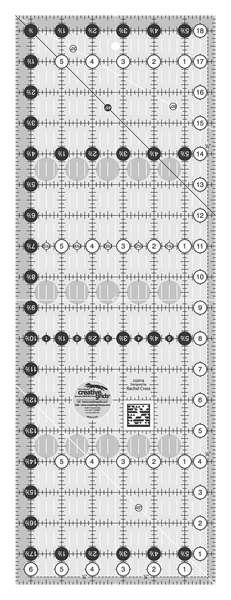 Creative Grids Quilt Ruler 6-1/2in x 18-1/2in CGR18