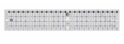 Creative Grids Quick Trim and Circle Ruler Two 4 1/2 X 24 1/2 CGRMT5