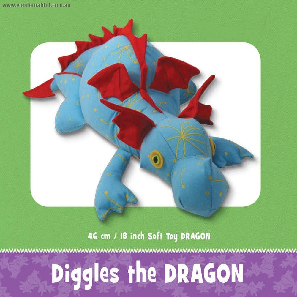 Diggles The Dragon FF 3982