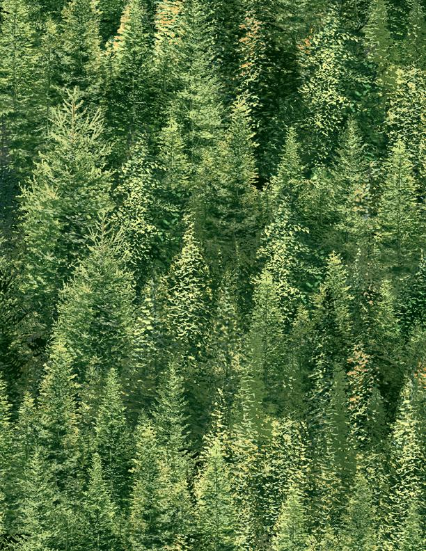 Roaming Wild Trees A/O Lt. Green 1662 30173 775