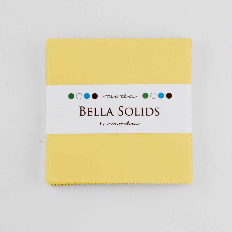 Bella Solids Charm Pack 30s Yellow 9900PP 23S