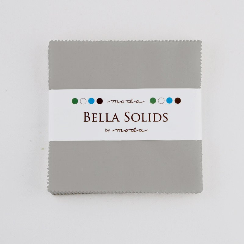 Bella Solids Charm Pack Silver 9900PP 183