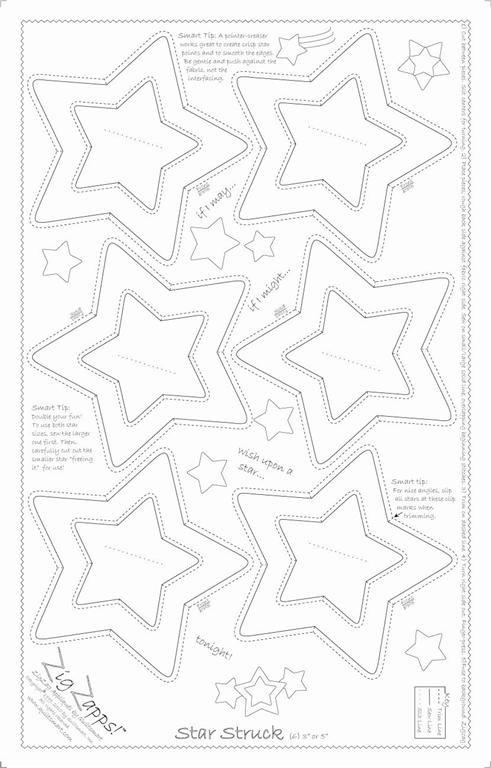 Quiltsmart ZigZapps Star Struck 30001