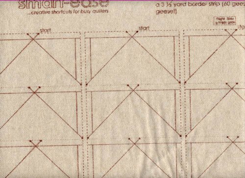 Quiltsmart Flying Geese Border Additional Panels 65045W