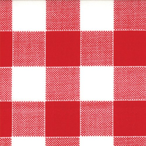 Glamping Plaid Coated Barn Red