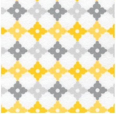 Cozy Cotton Yellow SRKF-16228-5