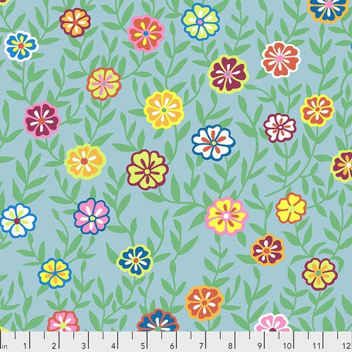 Busy Lizzy - Turquoise PWG175.Turquoise